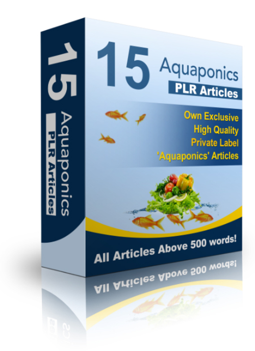 Product picture 15 Aquaponics PLR Articles