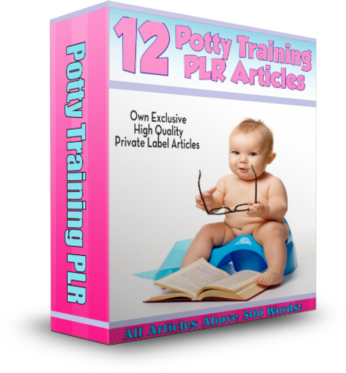 Product picture 12 Potty Training PLR Articles
