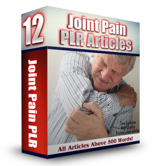 Product picture 12 Joint Pain PLR Articles