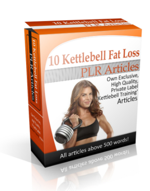 Product picture 10 Kettlebell Training PLR Articles