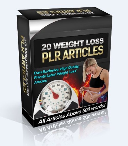 Product picture 20 Fat Loss / Weight Loss PLR ARTICLES