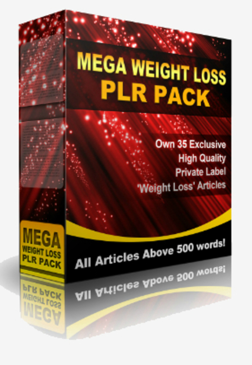 Product picture 35 Weight Loss PLR Articles