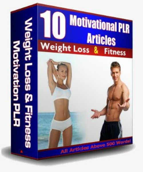 Product picture 10 Weight Loss / Fitness Motivational Articles