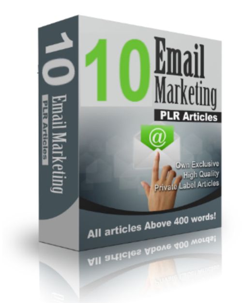 Product picture 10 Email Marketing PLR Articles