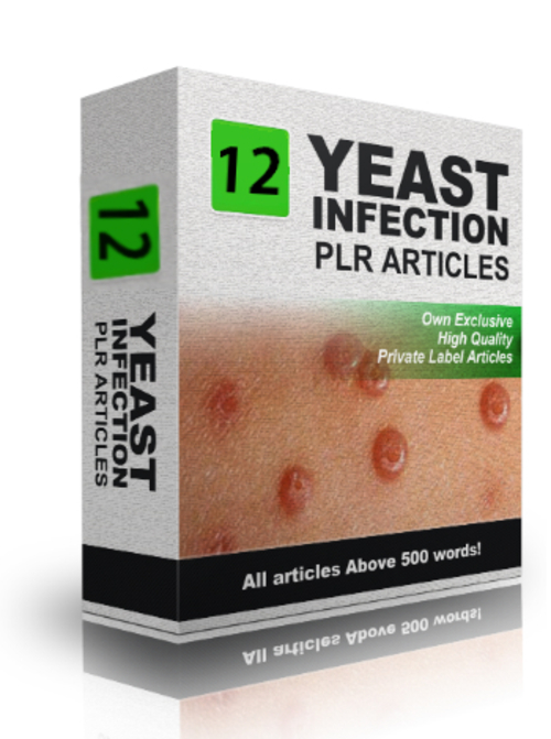 Product picture 12 Yeast Infection PLR Articles