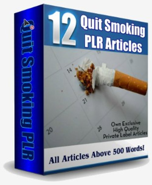 Product picture 12 Stop Smoking PLR Articles