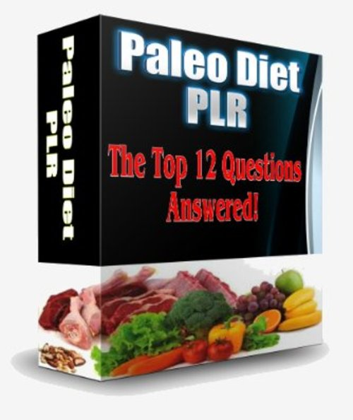 Product picture Paleo Diet PLR Articles - The Top 12 Questions Answered!