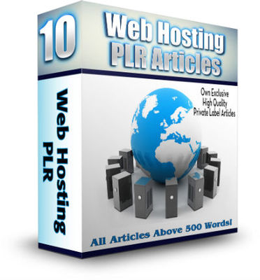Product picture 10 Web Hosting PLR Articles